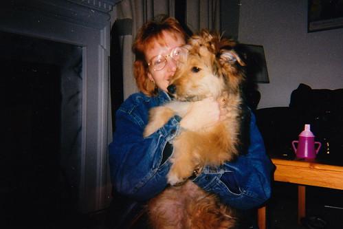 Mina and I in 1997