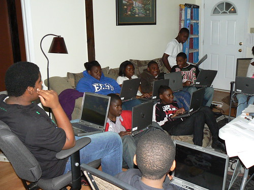 Computer Literacy Program - Almost Entire Class From Front