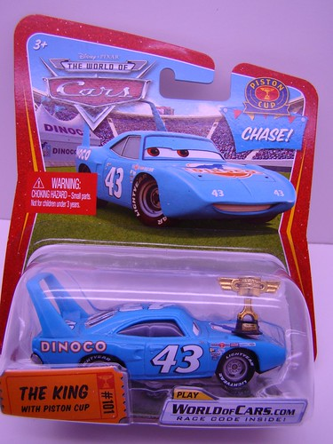Disney CARS Chase King with Piston Cup