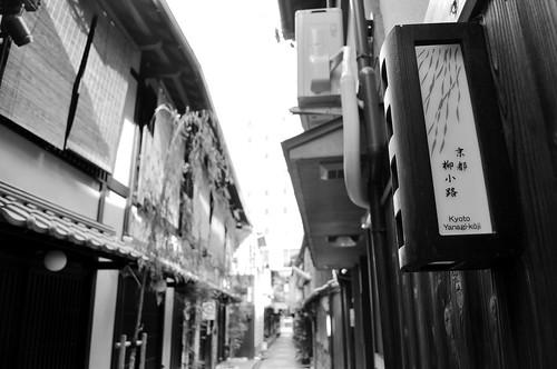 [Kyoto/Day5]Super Hotel前的柳小路