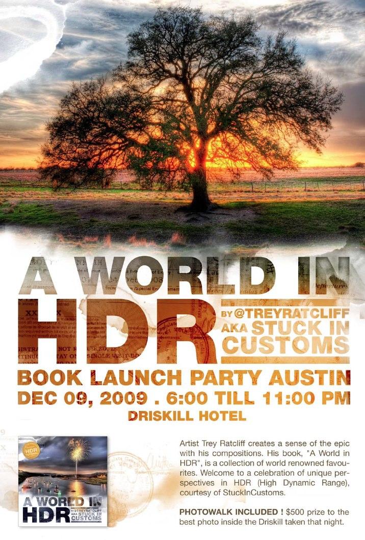 Austin Book Party Tomorrow Night