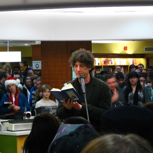 Neil Gaiman in Winterpeg