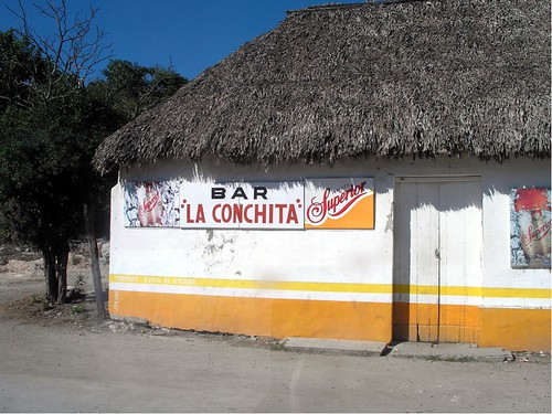 yucatan thatched bar