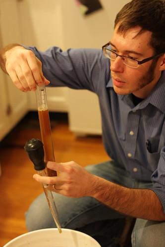 Measuring original gravity