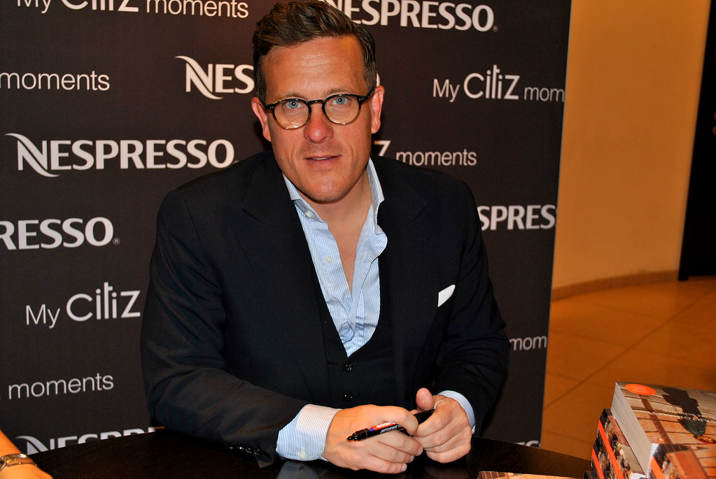 Mr. Scott Schuman, book signing in Moscow