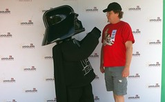 7089 Lego Dark Helmet Force-choking Me
