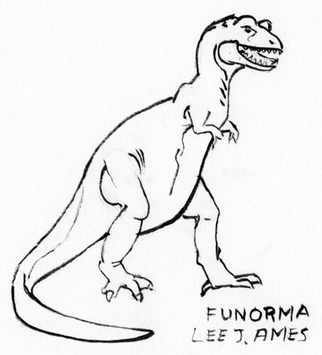 T. Rex using funorma