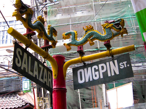 Street Signs in Binondo