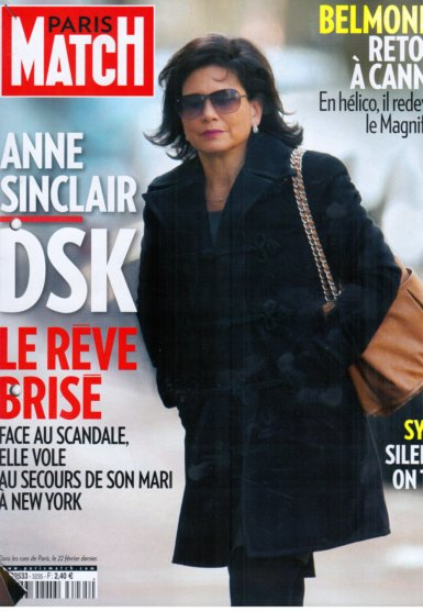11e20 Paris Match del 18 mayo 2011 Anne Sinclair el 22 febrero 2011