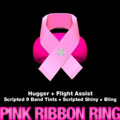 Pink Ribbon Ring