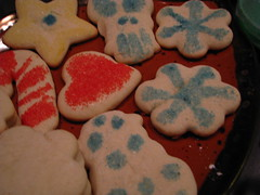 decorating cookies