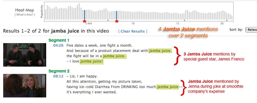 Jamba Juice - 30 Rock - Klaus and Greta