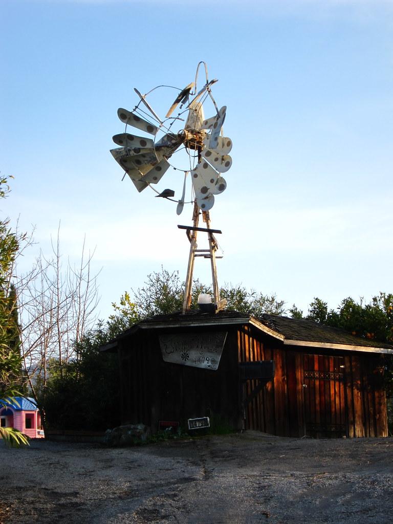 Windmill on Sky