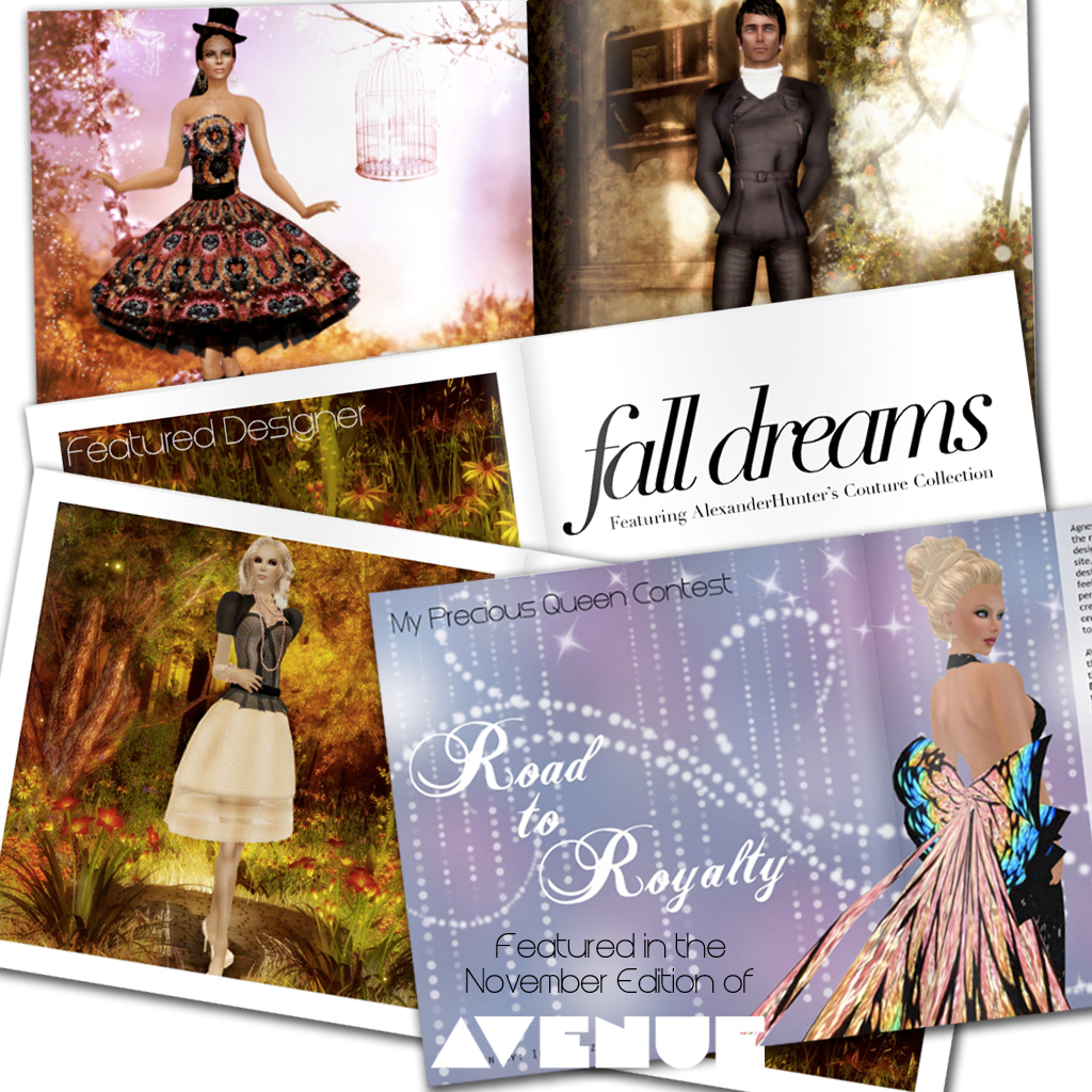 Fashion Decadence - November Features