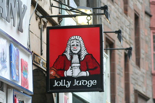 Jolly Judge, Royal Mile, Edinburgh
