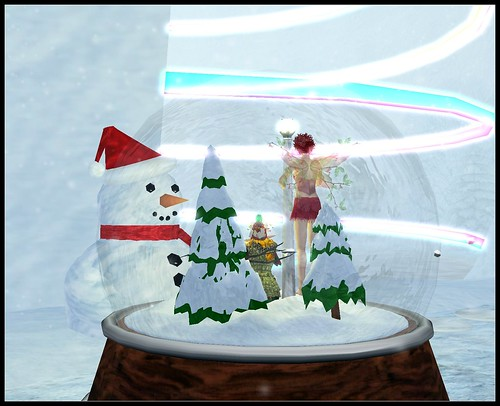 Visiting SL's biggest snowman