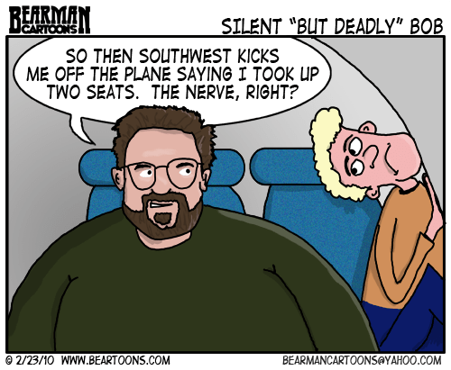 2 23 10 Bearman Cartoon Kevin Smith Southwest