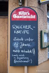 Raucherkneipe in Berlin