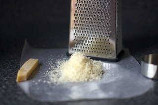 finely grated parmesan
