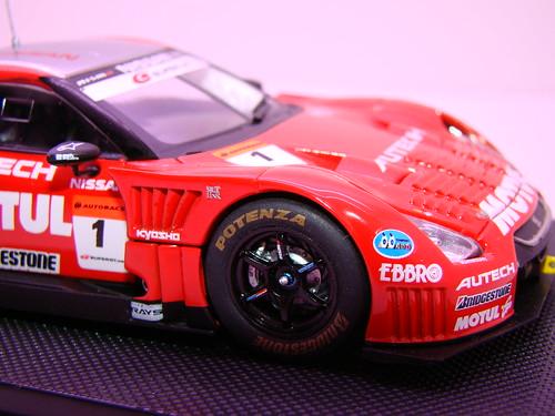 EBBRO MOTUL AUTECH GT-R SUPER GT 2009 OKAYAMA TEST (6)