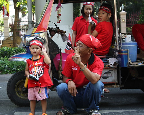 Red Shirts in Bangkok - Part 1
