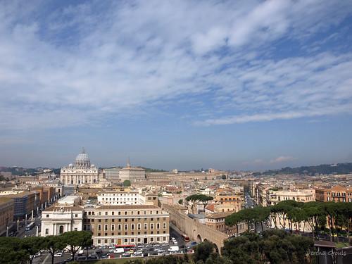 Blick Richtung Petersdom