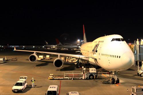 JAL B747-400(JA8079)