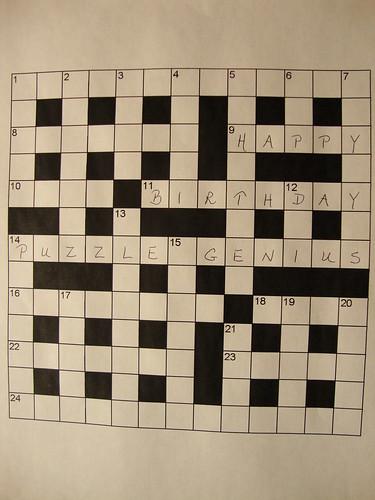Happy Birthday, Puzzle Genius!