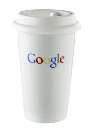 Google takeaway mug
