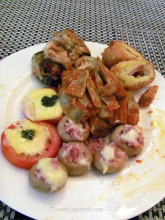 Appetizers at Bellini's Marikina