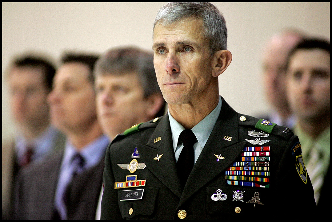 Special Forces Chief Warrant Officer 5 Dan Jollota