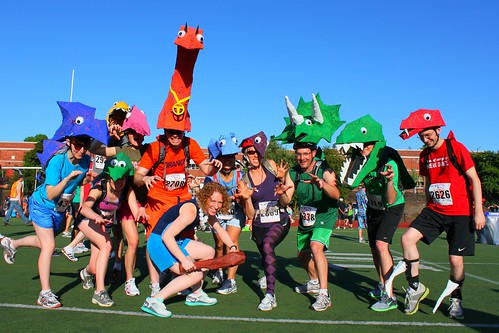 Starlight Dino Run 2011 by MediumTall