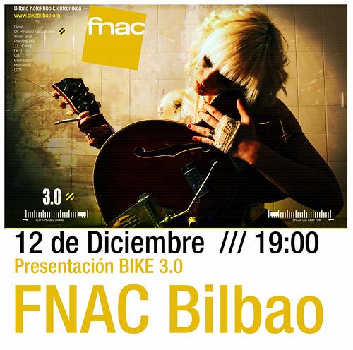 Bilbao Kolektibo Elektronikoa presenta 3.0 en la FNAC