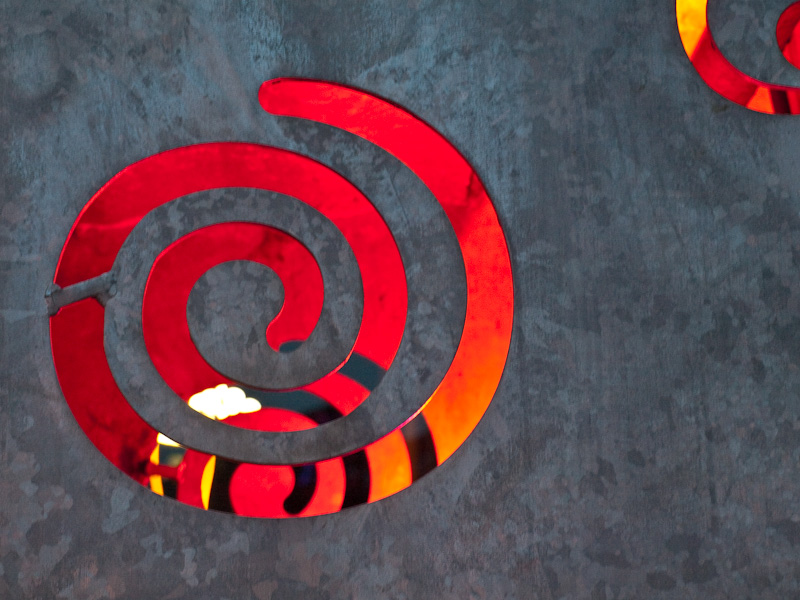 Redorange Spiral