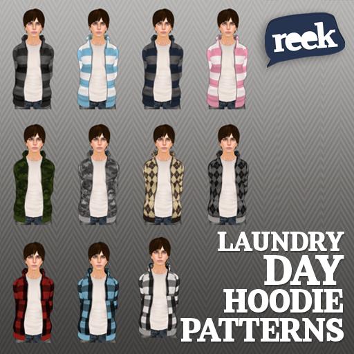 Reek - Laundry Day Hoodie - Patterns