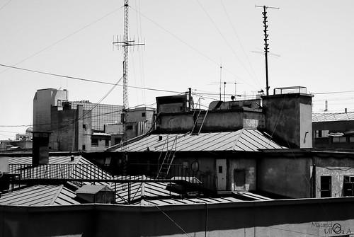 B&W Rooftops. - 39/365