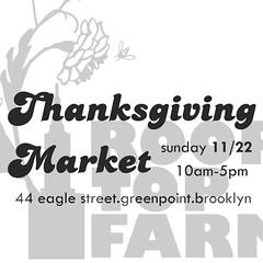 Thanksgiving Market