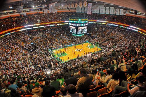 Boston Celtics and the Garden