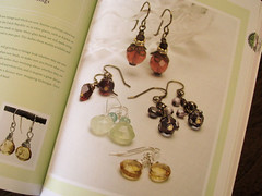 Vintage Glass Bead Earrings
