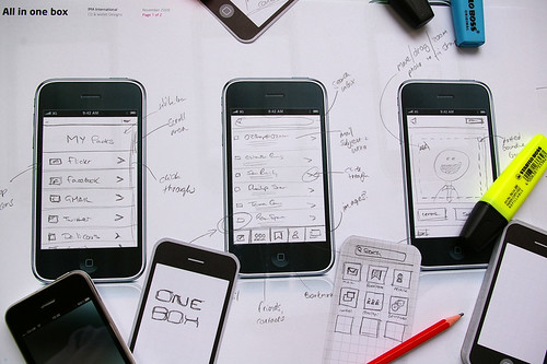 iPhone app concepts / martyn reding