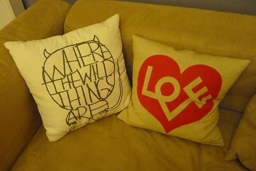 UO cushions