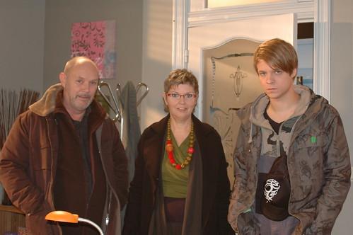 met Herman en z'n zoon