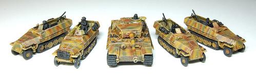 Flames of War Mechanised PPanzergrenadier Vehicle WIP