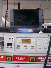 The gas pump