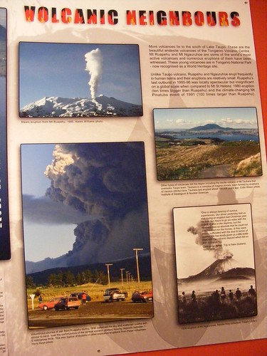 Taupo's Volcanic History