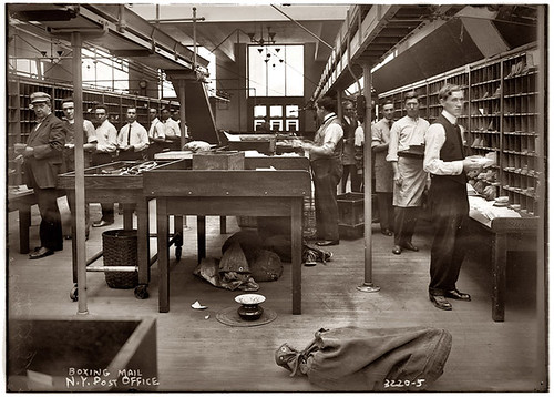 Vintage photography: at work