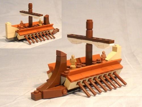 Mini-trireme