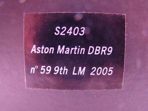 SPARK ASTON MARTIN DB9R LeMans