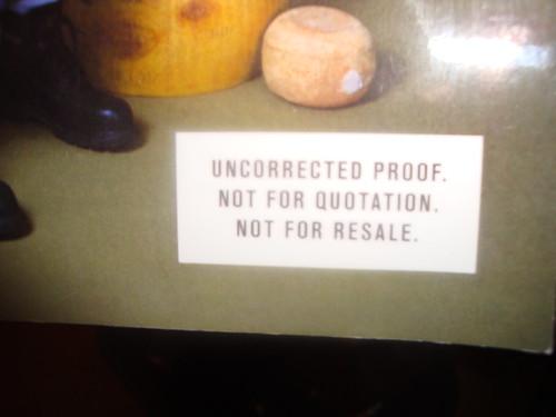 uncorrected