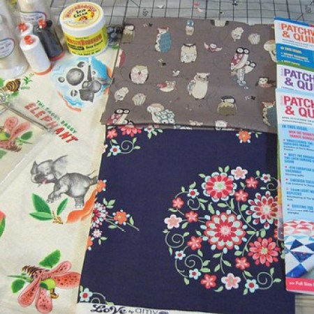Fabric Piecemeal Quilts
